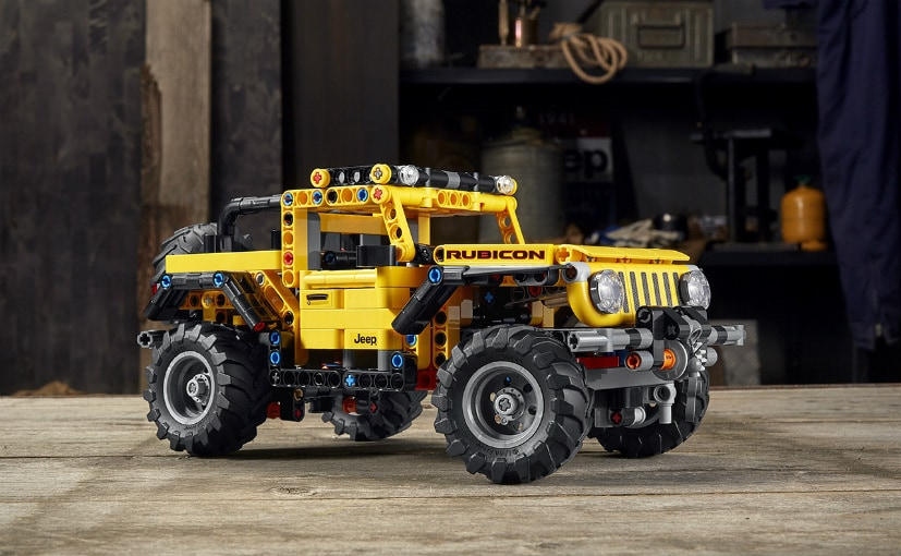 The Lego Jeep Wrangler Rubicon model is priced at $49.99