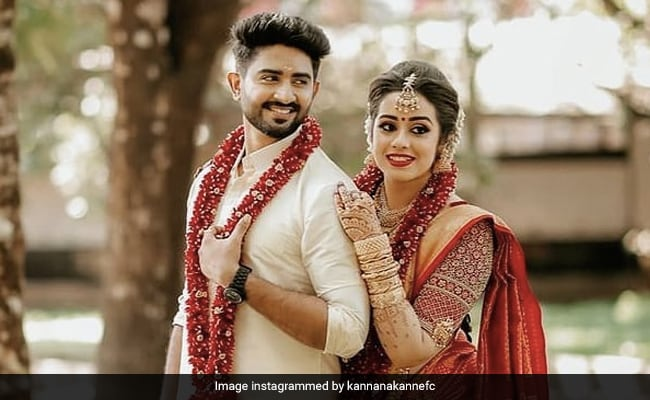 Trending: Pics From Malayalam Actor Rahul Ravi And Lakshmi Nair's Wedding