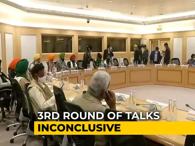 Video : Centre Says Trying To Resolve Issues, Next Meeting With Farmers On Wednesday