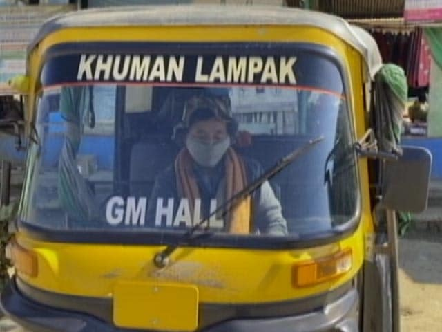 Video : Manipur's Women Auto-rickshaw Driver Who Volunteered To Drop A Cured COVID Patient