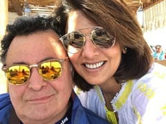 """Felt Like A Deer Caught In The Headlights,"" Writes Neetu Kapoor On Husband Rishi Kapoor's Death"