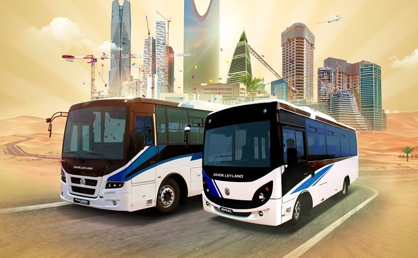 The buses have been launched in partnership with Ashok Leyland's exclusive dealer, Western Auto