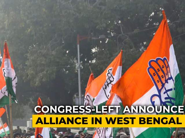 Video : Congress Finalises Alliance With Left For Bengal Assembly Polls