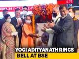 Video : Yogi Adityanath At Bombay Stock Exchange