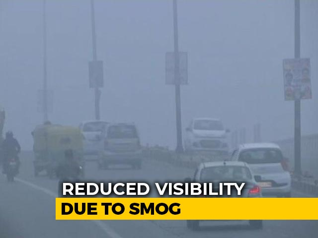 Video : Smog Engulfs Parts Of Delhi, Reduces Visibility