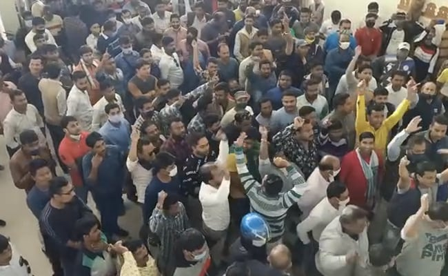 BJP Supporters Raise Slogans Against Biplab Deb. Party Says All Okay