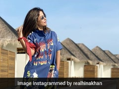 Hina Khan ने मालदीव से शेयर कीं रॉकिंग Photos, एक्ट्रेस के अंदाज ने जीता फैन्स का दिल