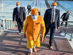 "During PM's Gurdwara Visit, Sermon Preaches ""Help Improve Society"""