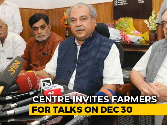 Video : Government Invites Farmers For Talks, Says Committed To Resolve Issues
