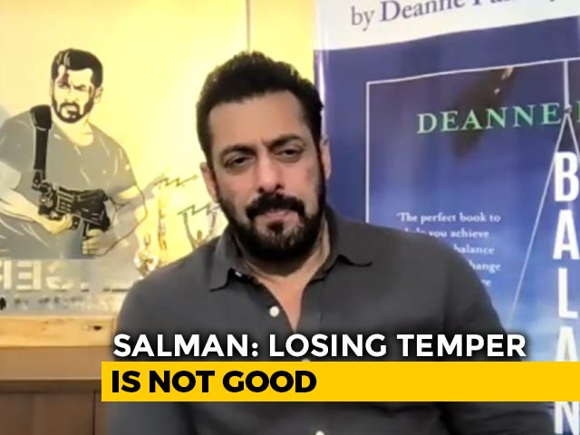 Video : I Have Anger But Not Temper, Anger Is Needed: Salman Khan