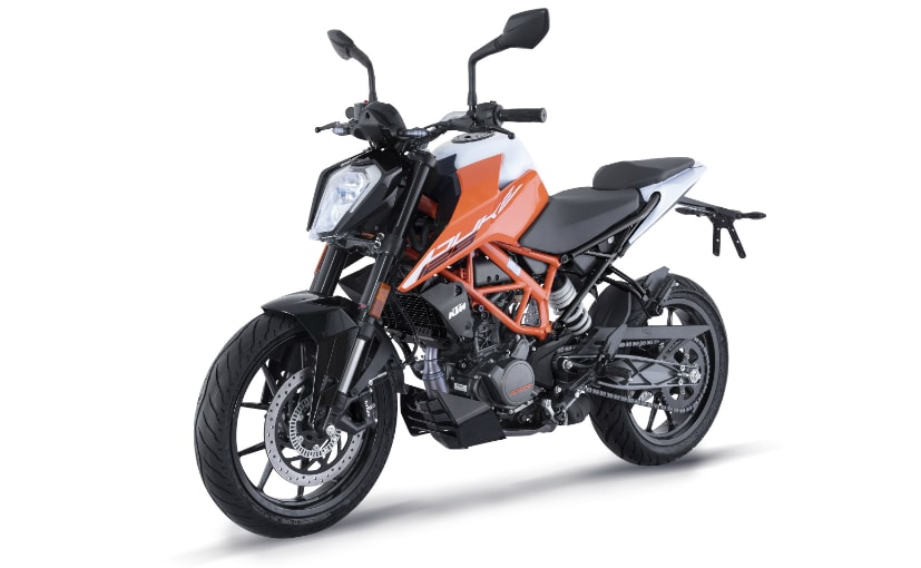 The 2021 KTM 125 Duke gets completely updated in the design department