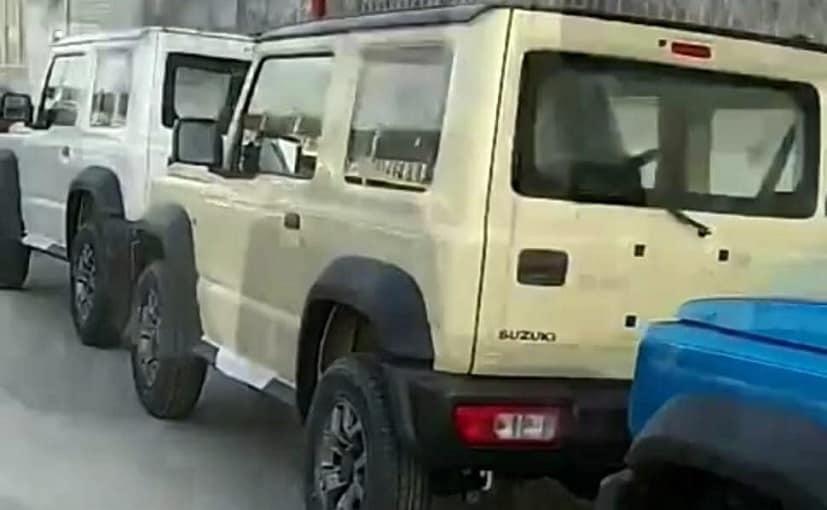 The Maruti Suzuki Jimny yet again has been spotted near Manesar facility