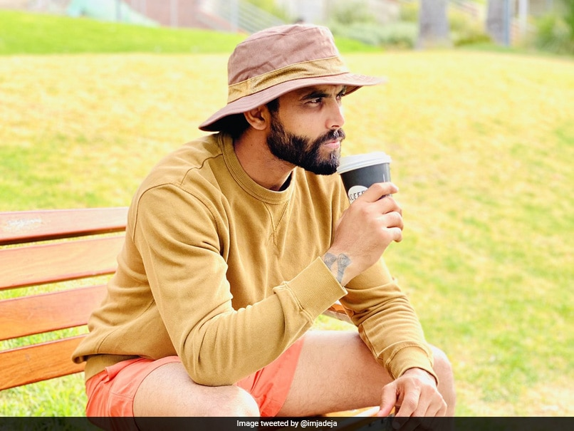 India vs Australia: Ravindra Jadeja Has This Reason For Having Coffee And It's Hilarious - NDTVSports.com