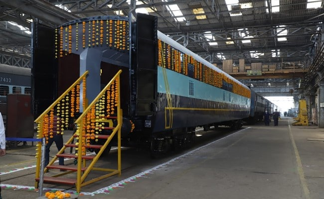 Indian Railways Develops Modified Automobile Carrier With 110 Kmph Speed Potential