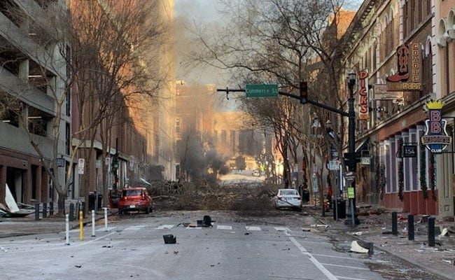 'Bomb Is In This Vehicle': Blast In US' Nashville After Chilling Warning