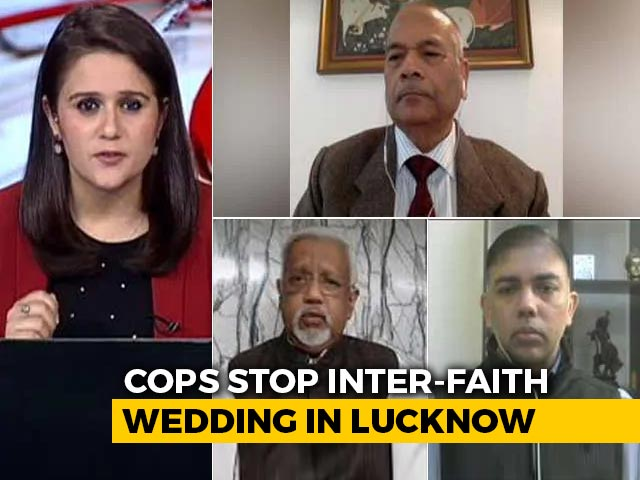 Video : Week After New Anti-Conversion Law, UP Cops Stop Interfaith Wedding