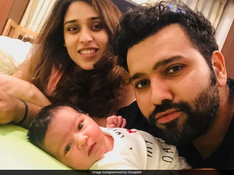 """Rohit Sharmas Daughter Samaira Turns Two, Ritika Sajdeh Shares Adorable Post To Wish Their """"Cookie Monster"""". See Pics"""