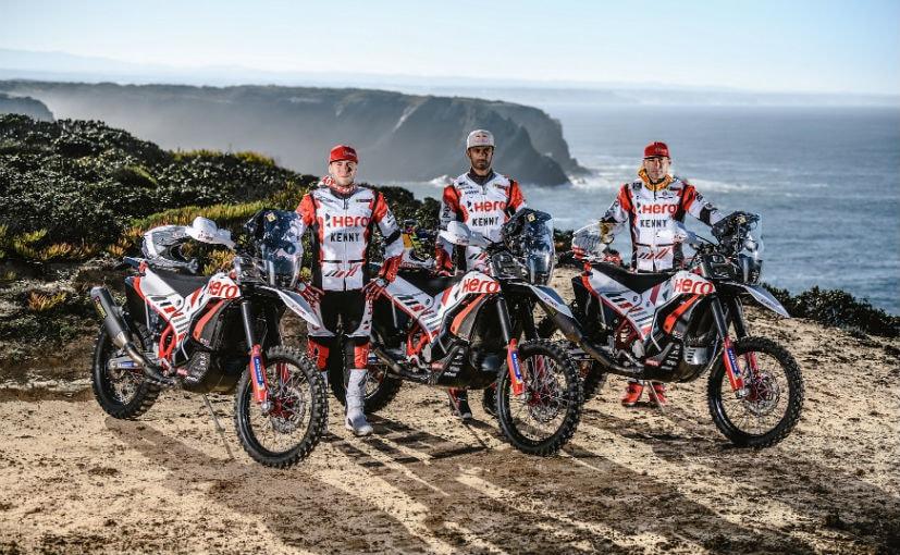Hero MotoSports's 2021 rider squad comprises Sebastian Buhler, Joaquim Rodrigues & CS Santosh