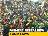Video : Will Only Discuss Repeal Of Laws, MSP Guarantee: Farmers Ahead of Talks