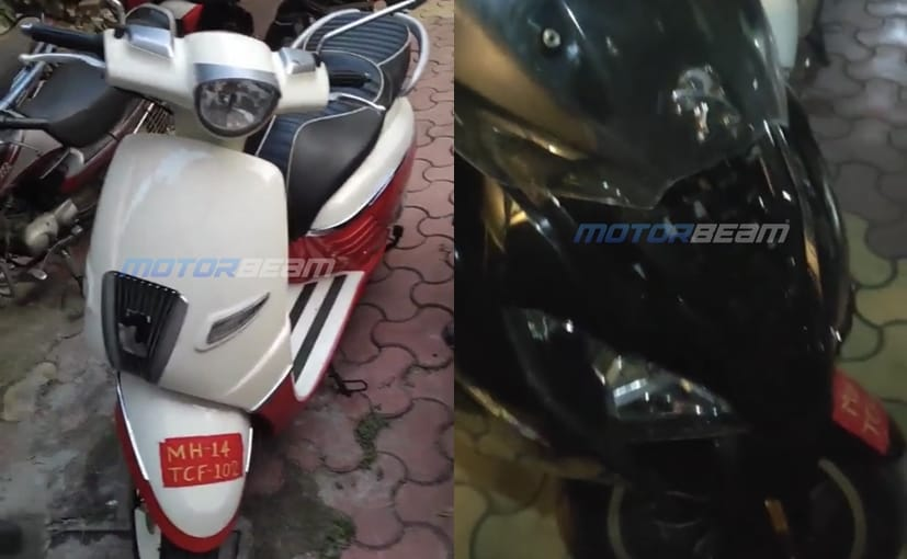 Both, the Peugeot Django and Pulsion, have been spotted with temporary Maharashtra number plates