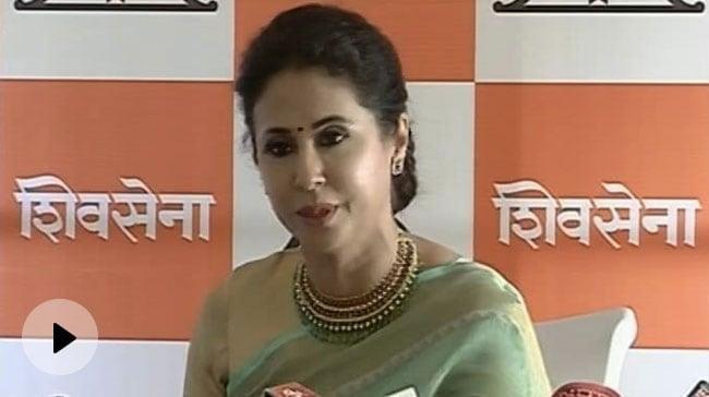 Bollywood actress Urmila Matondkar joins Shiv Sena after resigning from Congress – शिवसेना में शामिल हुईं बॉलीवुड अभिनेत्री उर्मिला मातोंडकर वीडियो – हिन्दी न्यूज़ वीडियो एनडीटीवी ख़बर
