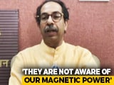 "Video : ""Not Jealous"": Uddhav Thackeray On Yogi Adityanath's Mumbai Visit To Woo Industry"