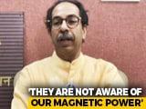"Video : ""Not Jealous"": Uddhav Thackeray On Yogi Adityanath's Mumbai Visit To Woo Industry"