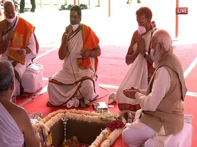 Video : PM Launches Work For New Parliament Complex, Ministers, Ratan Tata Attend