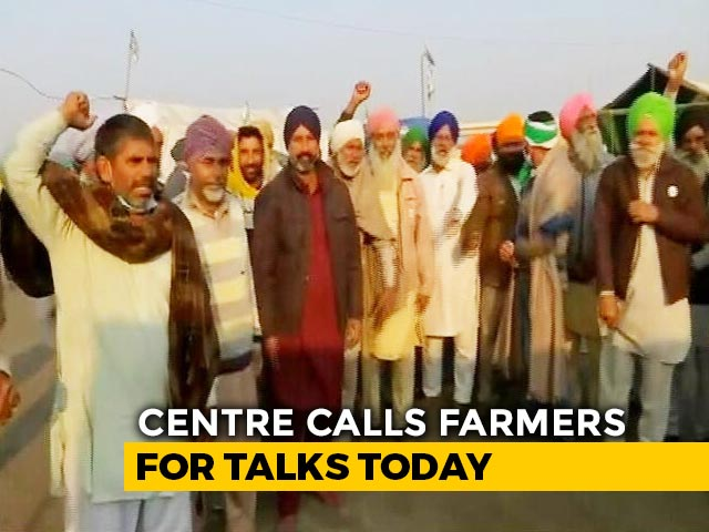 Video : Farmers Protest: Defence Minister Rajnath Singh To Lead Talks With Farmers, Say Sources