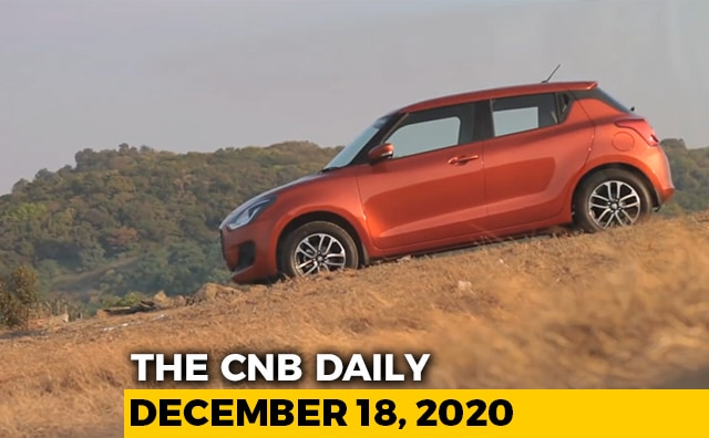 Video : Maruti Suzuki Swift Sales | New Tech To Replace Tolls | Tata-Marcopolo