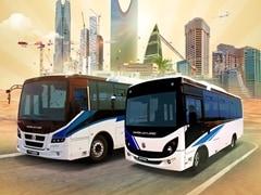 Ashok Leyland Launches Falcon Super And Gazl Buses In Saudi Arabia