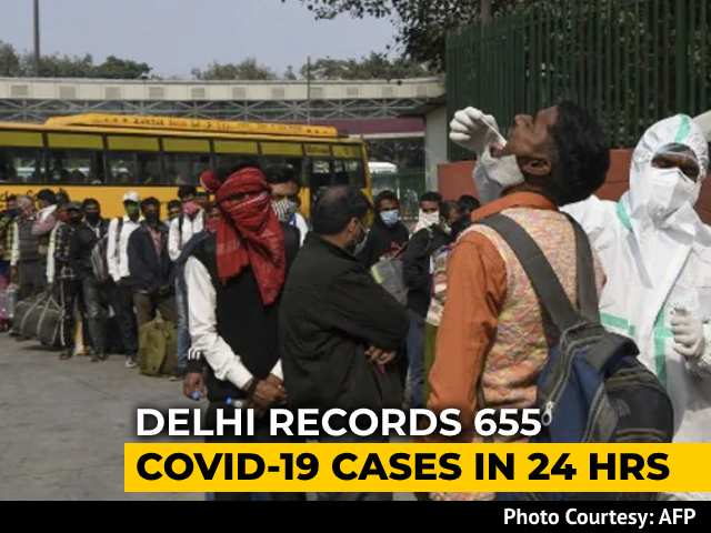 Video : Delhi Records 655 Covid Cases In 24 Hours, Lowest In Over 4 Months
