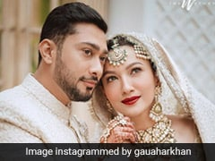 Viral: Gauahar Khan And Zaid Darbar's Wedding Cake Was A Majestic Affair (Pics Inside)