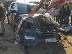 Former India Captain Mohammad Azharuddin Escapes Unhurt After Car Accident In Rajasthan