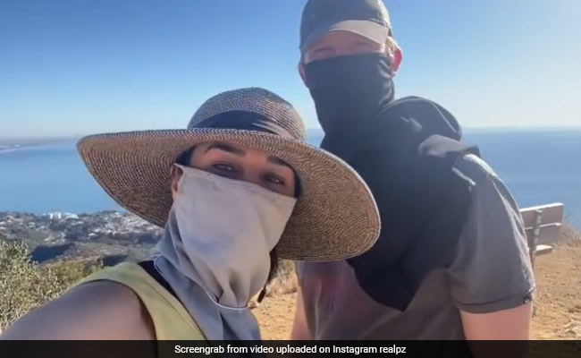 Preity Zinta, Who Was 'Getting Cabin Fever,' Goes Hiking With Husband Gene Goodenough