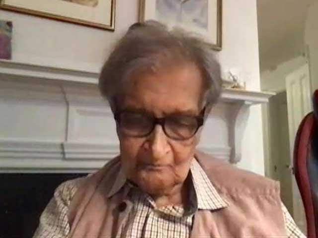 Video : Parties Against Communalism Must Unite: Amartya Sen On Bengal Election
