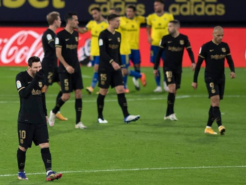 """Gigantic Step Backwards"": Barcelona Crash To Fourth La Liga Defeat Of Season"