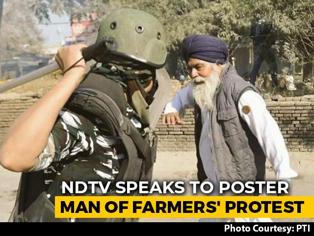 Video : Farmer In Viral Image Says Hit Multiple Times By Cops