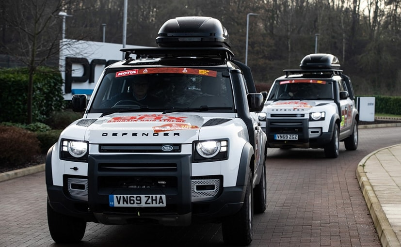 Two Land Rover Defenders Heading To Dakar Rally 2021