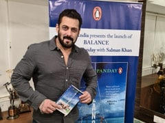 Salman Khan Launches Deanne Panday's New Book <I>Balance</i>; Talks About Anger, Cooking During Lockdown