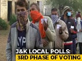 Video : J&K Local Body Polls: 3rd Phase Of Voting Today