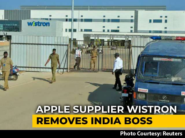 Video : Apple Supplier Wistron Apologises To Workers In Karnataka, Removes India Boss