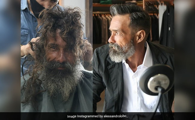 Homeless Man Reunited With Family After His Post-Haircut Pic Goes Viral