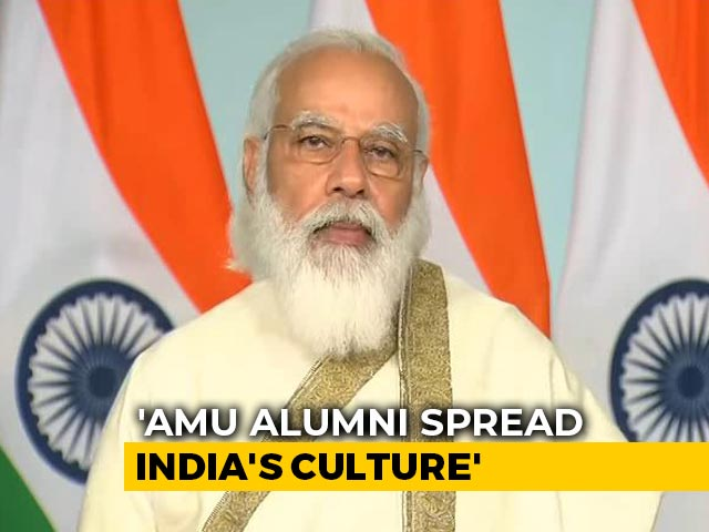 Video : PM Modi Addresses Aligarh Muslim University's Centenary Event