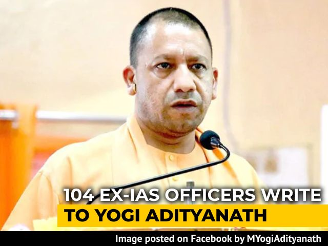 """Video : """"UP Epicentre Of Politics Of Hate"""": 104 Ex-IAS Officers To Yogi Adityanath"""