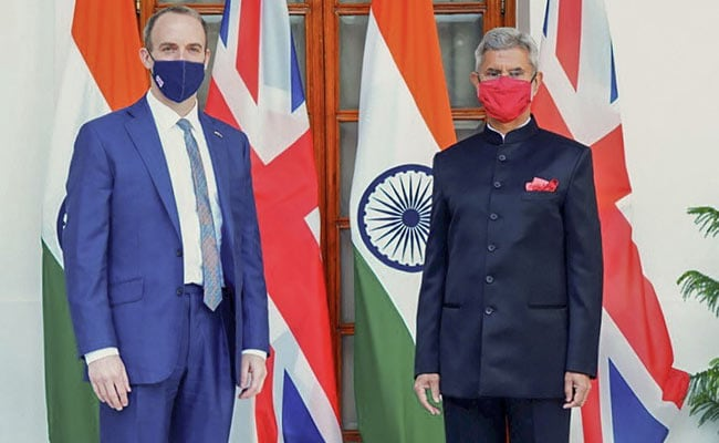 S Jaishankar, British Foreign Secretary Dominic Raab Hold Wide-Ranging Bilateral Talks