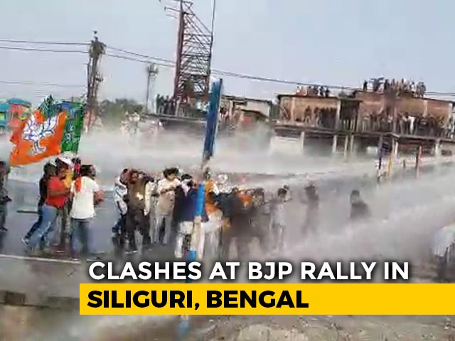 Video : BJP Alleges Party Worker Killed In Clash With Police In Bengal