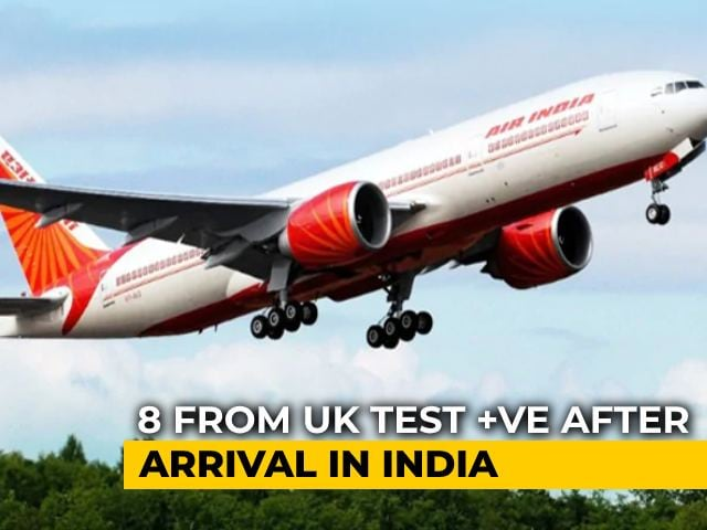 Video : 8 From UK Test Positive After Arrival In India Amid Mutant Strain Fears