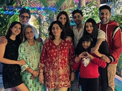 Christmas 2020: Inside Amitabh-Jaya Bachchan's Celebrations With Abhishek, Aishwarya Rai Bachchan, Aaradhya And Others