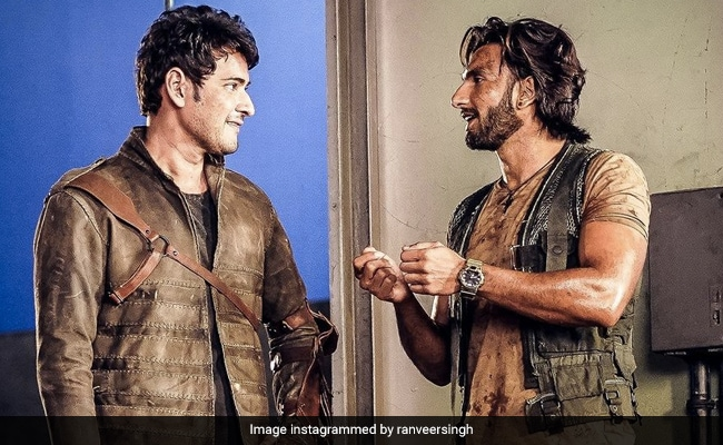 Here's Why Ranveer Singh And 'Big Brother' Mahesh Babu Are Trending